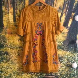 NWOT Free People perfectly victorian dress XS